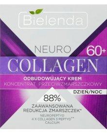 Bielenda Neuro Collagen 60+ Odbudowujący krem koncentrat przeciwzmarszczkowy na dzień noc 50 ml