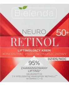 Bielenda Neuro Retinol 50+ Liftingujący krem koncentrat przeciwzmarszczkowy na dzień noc 50 ml