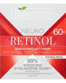 Bielenda Neuro Retinol 60+ Odbudowujący krem koncentrat przeciwzmarszczkowy na dzień noc 50 ml