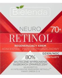 Bielenda Neuro Retinol 70+ Regenerujący krem koncentrat przeciwzmarszczkowy na dzień noc 50 ml