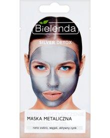 Bielenda Silver Detox Maska metaliczna cera mieszana i tłusta 8 g