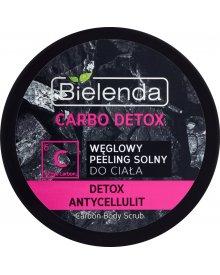 Bielenda Carbo Detox Węglowy peeling solny do ciała 280 g