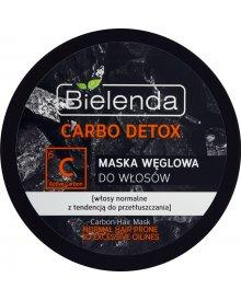 Bielenda Carbo Detox Maska węglowa do włosów 300 ml