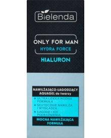 Bielenda Only for Man Hydra Force Nawilżająco-łagodzący Aquagel do twarzy 50 ml