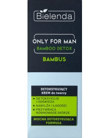 Bielenda Only for Man Bamboo Detox Detoksykujący krem do twarzy 50 ml