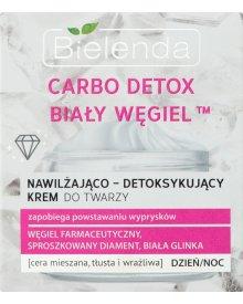 Bielenda Carbo Detox Biały Węgiel Nawilżająco-detoksykujący krem do twarzy na dzień noc 50 ml