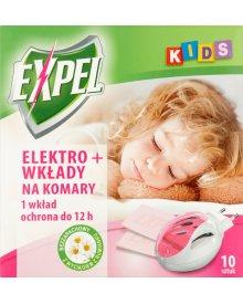 Expel Kids Elektro + wkłady na komary 10 sztuk