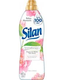 Silan Aromatherapy Peony & White Tea Scent Płyn do zmiękczania tkanin 900 ml (36 prań)