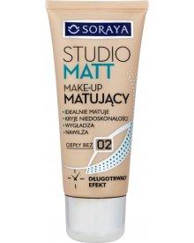 Soraya Studio Matt Make-up matujący 02 ciepły beż 30 ml