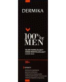 Dermika 100% for Men 30+ Silnie nawilżający krem rewitalizujący dzień noc 50 ml