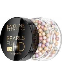 Eveline Pearls Full HD Face Powder puder wyrównujący koloryt w perełkach do twarzy 1 opakowanie
