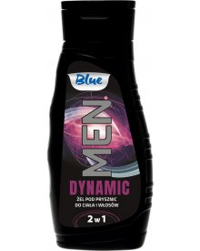 Blue Men Żel pod prysznic do ciała i włosów Dynamic 300ml