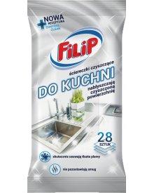 Filip nawilżane ściereczki czyszczące do kuchni 28 szt