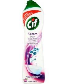 Cif Cream Lila Flowers z mikrokryształkami Mleczko do czyszczenia powierzchni 540 g