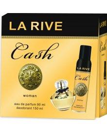 La Rive Woman zestaw prezentowy Cash woda perfumowana 90ml + dezodorant spray 150ml