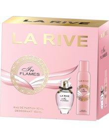 La Rive Woman zestaw prezentowy In Flames woda perfumowana 90ml + dezodorant spray 150ml