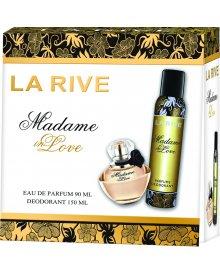 La Rive Woman Madame In Love zestaw prezentowy woda perfumowana 100ml + dezodorant 150ml