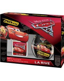La Rive Disney Cars zestaw prezentowy woda toaletowa 50ml + żel pod prysznic 2w1 250ml