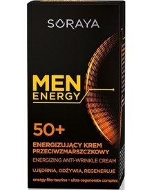 Soraya Men Energy Energizujący krem przeciwzmarszczkowy 50+ 50 ml