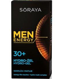Soraya Men Energy 30+ Hydro-Żel nawilżająco matujący 50ml