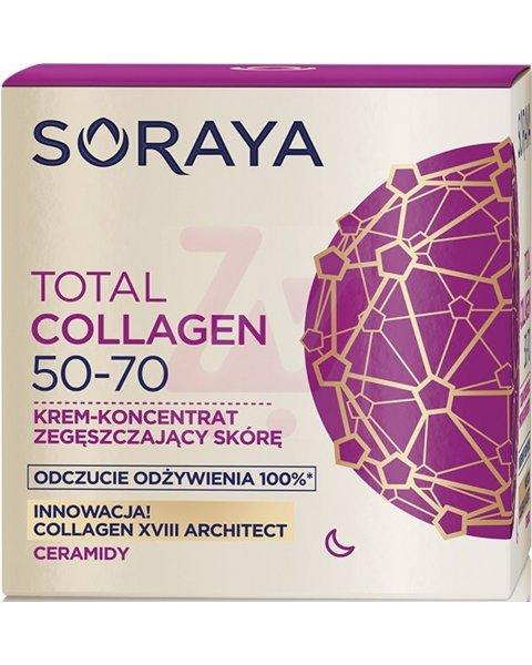 Soraya Total Collagen 50-70 Krem-koncentrat zagęszczający skórę na noc 50ml