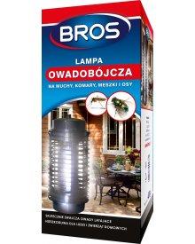 BROS lampa owadobójcza na muchy komary meszki i osy