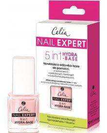 Celia Nail Expert Nawilżająca odżywka-baza do paznokci 8w1 10ml