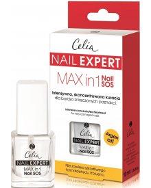 Celia Nail Expert Skoncentrowana kuracja do paznokci Max in 1 Nail SOS 10ml