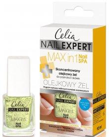 Celia Nail Expert Skoncentrowany olejkowy żel do paznokci i skórek Max in 1 Nail SPA 10ml