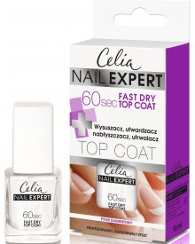 Celia Nail Expert Top Coat 60s Fast Dry 10ml