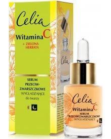 Celia Witamina C 45+ Wygładzające serum przeciwzmarszczkowe na dzień i noc 15ml