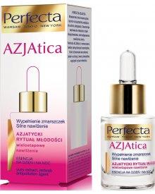 Perfecta AZJAtica White Esencja na dzień i na noc wypełnienie zmarszczek silne nawilżenie 15ml