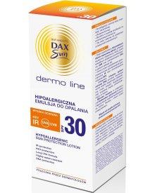 Dax Sun Dermo Line hipoalergiczna emulsja do opalania SPF30 wysoka ochrona 200ml