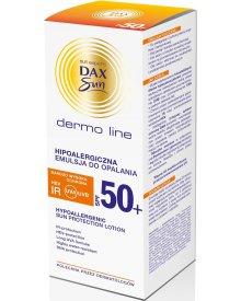 Dax Sun Dermo Line hipoalergiczna emulsja do opalania SPF50 bardzo wysoka ochrona 200ml