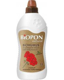 Biopon Biohumus do pelargonii i innych roślin balkonowych 1 litr