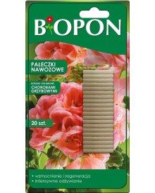 Biopon pałeczki nawozowe do roślin osłabionych chorobami grzybowymi 20szt.