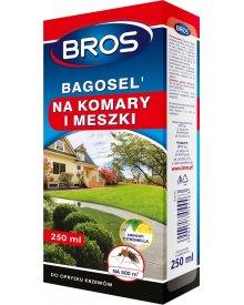 Bros Bagosel 100EC - preparat do oprysku ogrodu przeciw komarom 250ml