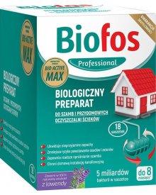 Biofos Professional Proszek do szamb 18szt x 25g