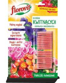 Florovit pałeczki nawozowe do roślin kwitnących (domowych i balkonowych) 20g