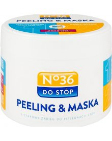 No.36 Peeling&maska do stóp 2x125ml