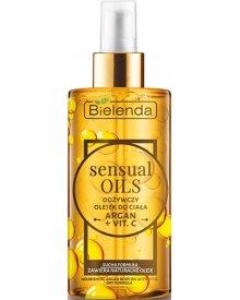 Bielenda Sensual Oils odżywczy olejek arganowy do ciała Argan + Witamina C 150ml