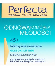 Perfecta Odnowa Komórek Młodości 45+ Głęboki lifting Krem na dzień i na noc 50 ml
