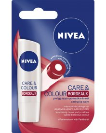 NIVEA Care & Colour Bordeaux Pielęgnująca pomadka do ust 4,8 g