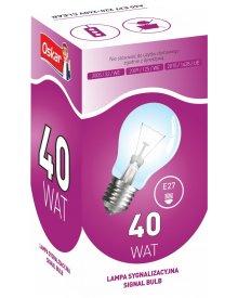 Oskar żarówka gwint E27 lampa sygnalizacyjna moc 40W 10szt