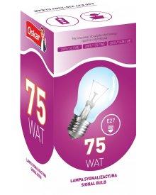 Oskar żarówka gwint E27 lampa sygnalizacyjna moc 75W 10szt