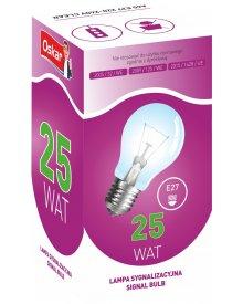 Oskar żarówka gwint E27 lampa sygnalizacyjna moc 25W 10szt
