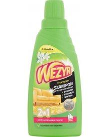 Wezyr 2w1 Szampon do ręcznego czyszczenia dywanów wykładzin tapicerki cytrynowy 450 ml