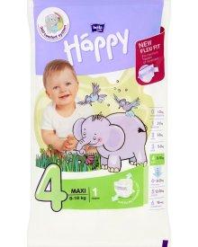 Bella Baby Happy Pieluszki jednorazowe 4 maxi 8-18 kg