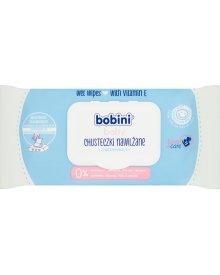 Bobini Baby Chusteczki nawilżane z witaminą E 70 sztuk