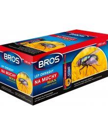 BROS lep okrągły na muchy MAX 100szt